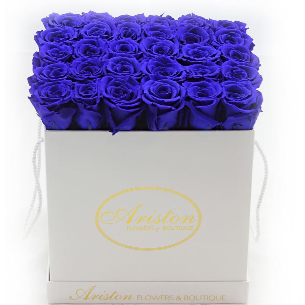 Everlasting blue roses ariston flowers and boutique everlasting blue roses izmirmasajfo