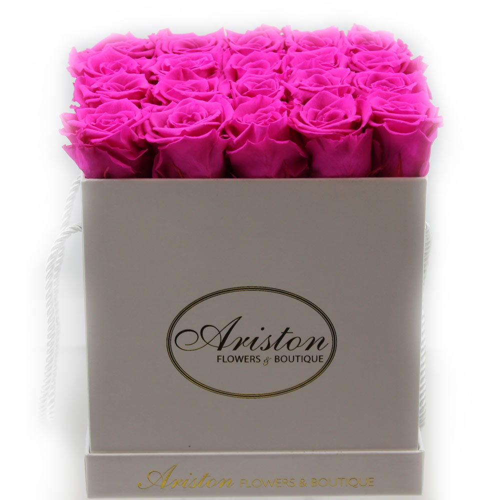 Everlasting hot pink roses ariston flowers and boutique everlasting hot pink roses mightylinksfo